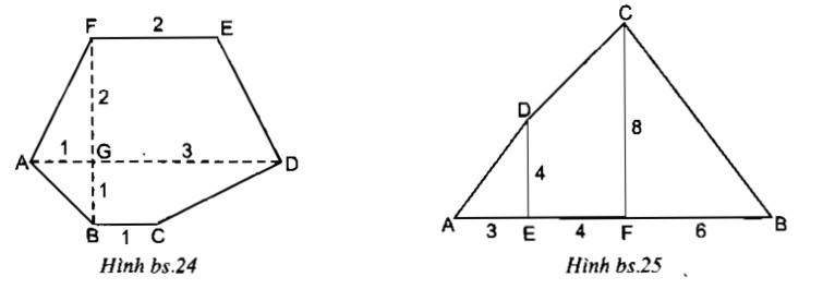 Bài 6: Diện tích đa giác – Chương 2 Hình học SBT Toán 8