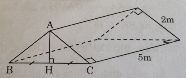 Bài 9: Thể tích của hình chóp đều – Chương 4 Hình học SBT Toán 8