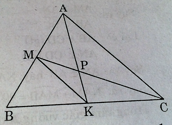 Ôn tập chương 3 hình học – Tam giác đồng dạng - SBT Toán 8