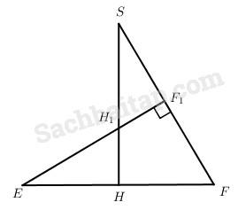 Ôn tập chương III Quan hệ vuông góc – Giải SBT Hình học 11 nâng cao
