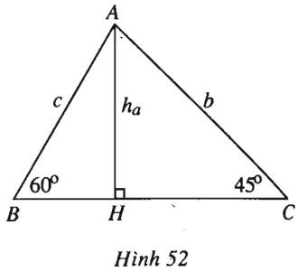 Bài 3. Hệ thức lượng trong tam giác – Giải SBT Hình học 10 nâng cao